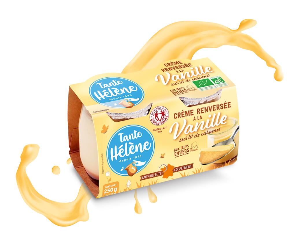 Creme Renversee Vanille Tante Hélène